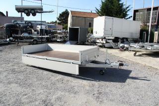 Remorque Plateau Roues Dessous ERDE EXPERT XRS302
