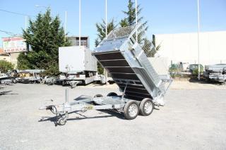 Remorque Benne hydraulique LIDER ROBUST 34352 PE