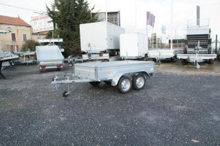 Remorque Utilitaire ERDE EXPERT LC 242 ALU
