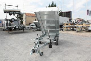 Remorque Benne Hydraulique ERDE EXPERT BE 150F