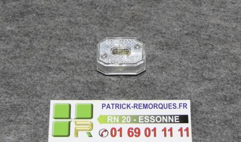 FEU DE POSITION DE REMORQUE ASPOCK 5107