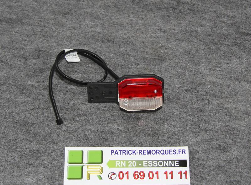 produits feu de gabarit bicolore sur platine pour remorque patrick remorques. Black Bedroom Furniture Sets. Home Design Ideas