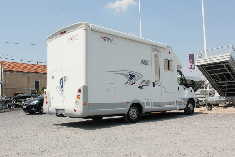Attelage Camping Car Fiat Ducato Chassis Alko