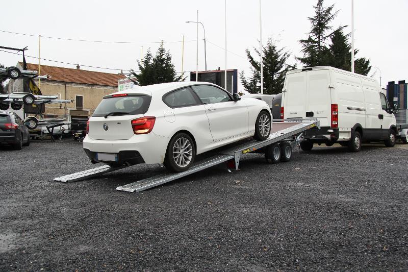 Produits remorque porte voiture trigano pv pro250 patrick remorques - Remorque porte velo trigano ...