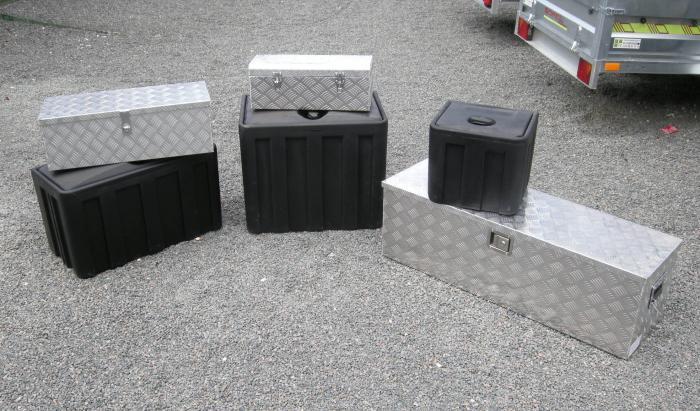 caisson de rangement pour camion benne