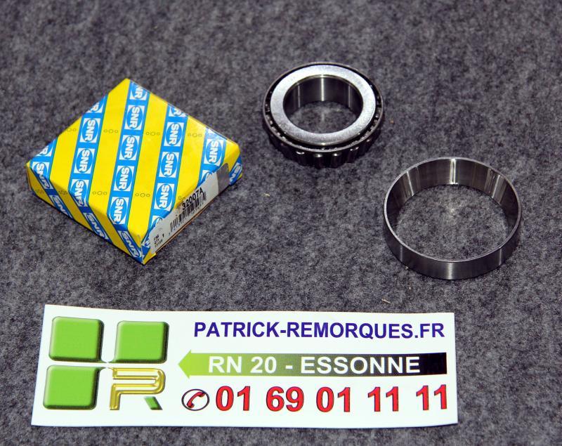 roulement conique snr 32007 roulement conique 32007 snr patrick remorques. Black Bedroom Furniture Sets. Home Design Ideas