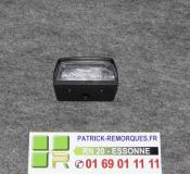 FEU DE PLAQUE DE REMORQUE AJ.BA 58124