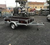 Remorque Utilitaire ERDE EXPERT LC 240 BOIS