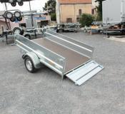 Remorque Utilitaire ERDE EXPERT LC 251 GALVA