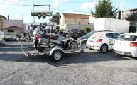 Remorque transport Can Am Spyder