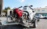 REMORQUE MOTO ERDE CH 751 TE2